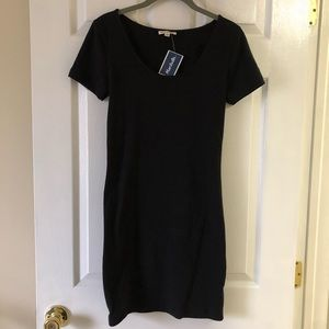 NWT Black T-Shirt Dress